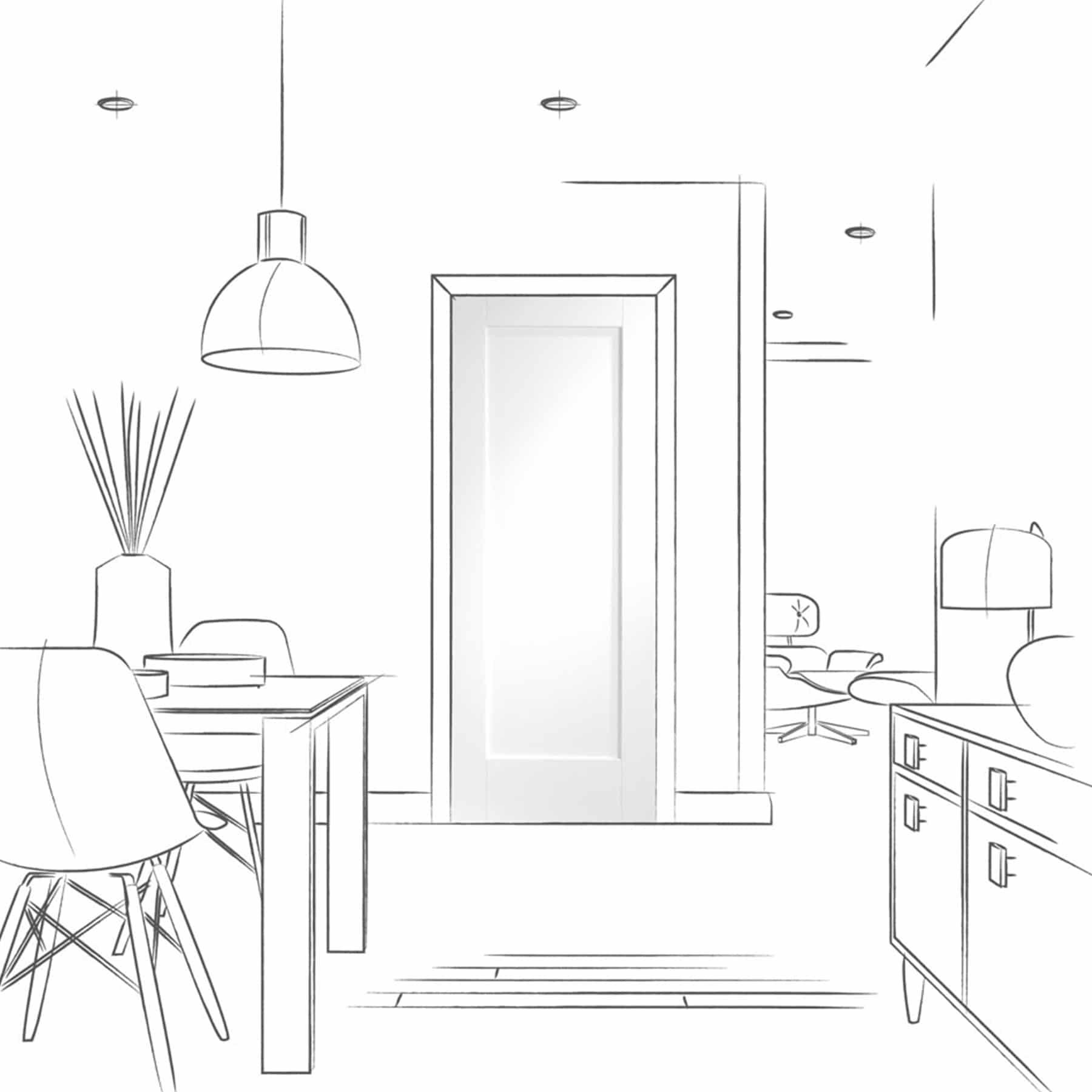 pattern 10 interior door room
