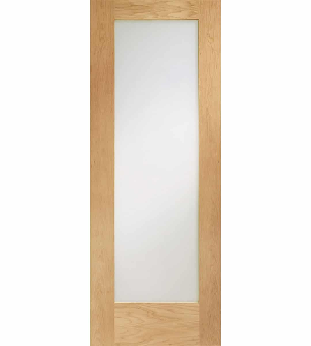 Oak Clear Glazed Door