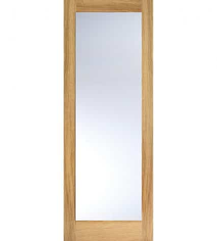 Oak Pattern 10 Internal With Clear Glass - 1981mm-x-838mm-x-35mm