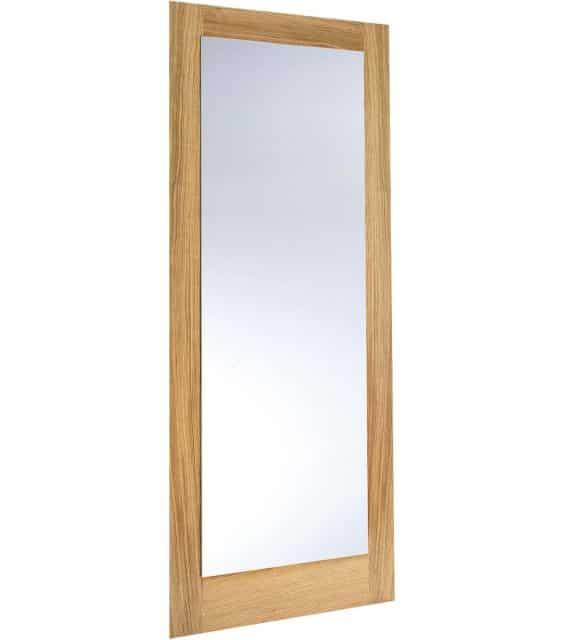pattern 10 oak glazed internal door
