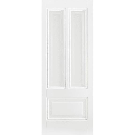 Peony 2L White Primed Glazed Internal Door
