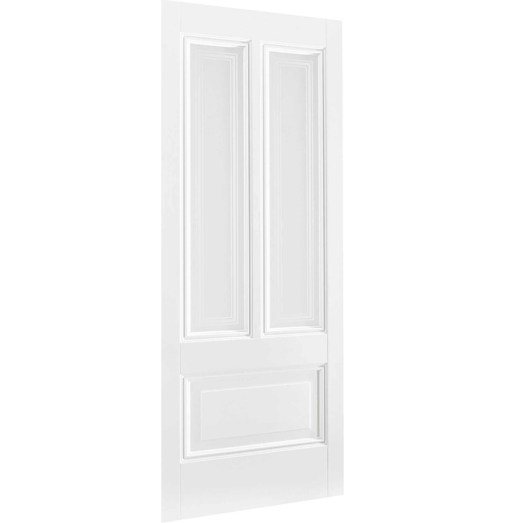 Peony 2L White Primed Glazed Interior Door