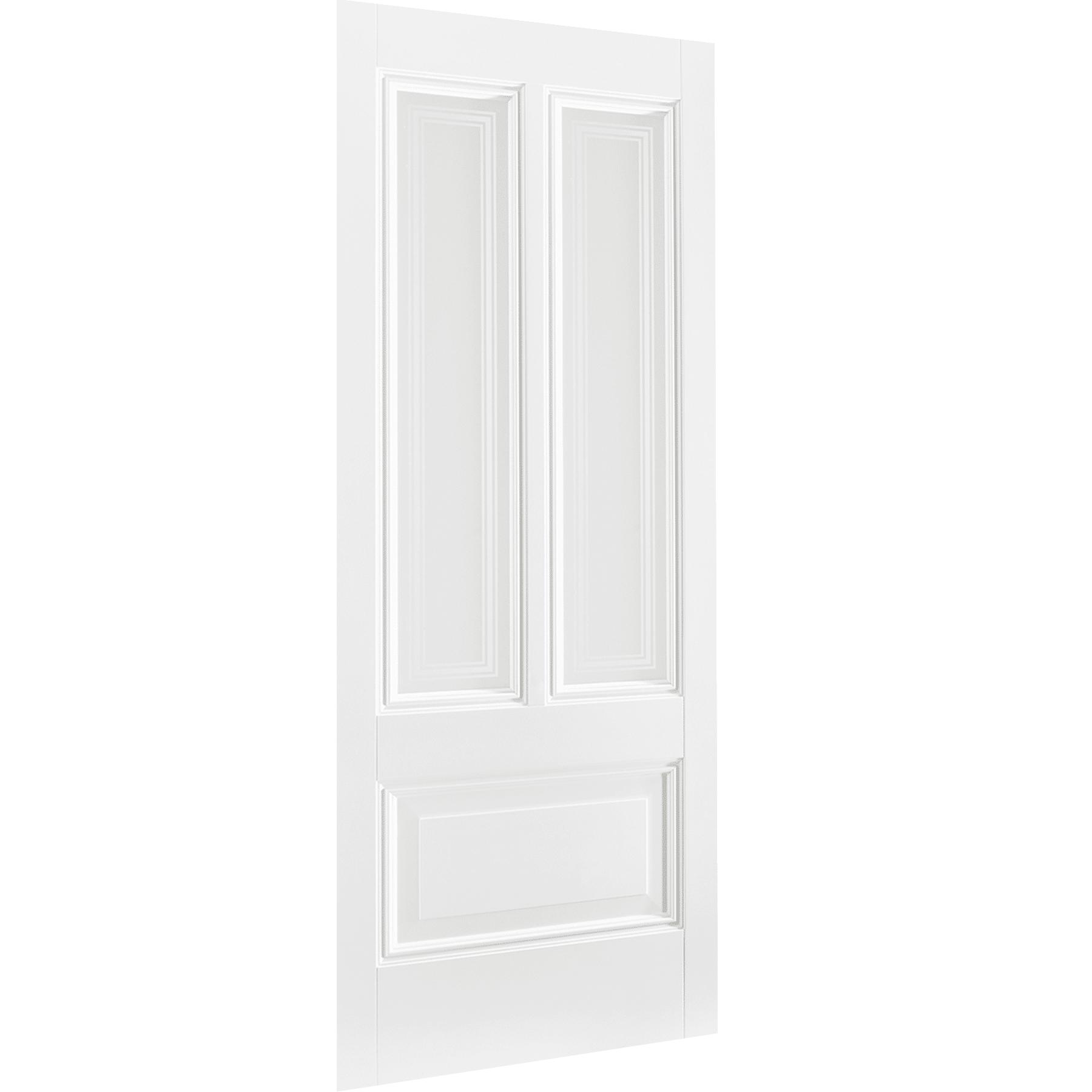 Peony 2L White Primed Glazed Interior Door