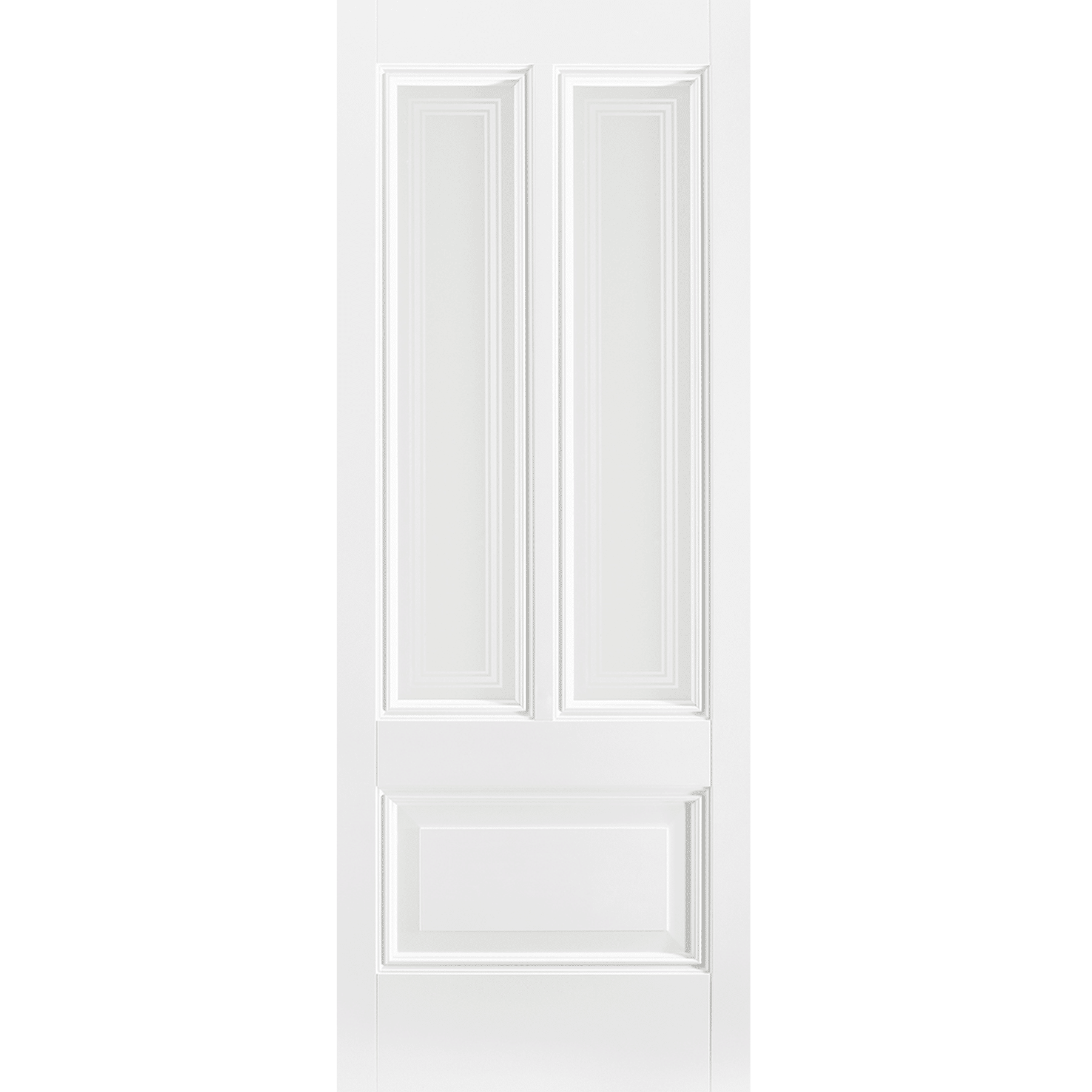 Peony 2L White Primed Glazed Internal Door