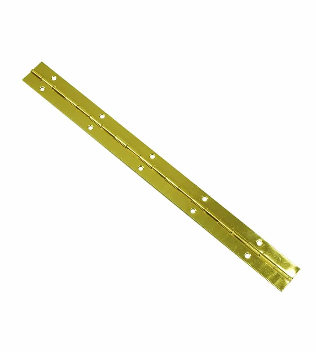 Piano Hinge Continuous Hinge Brass