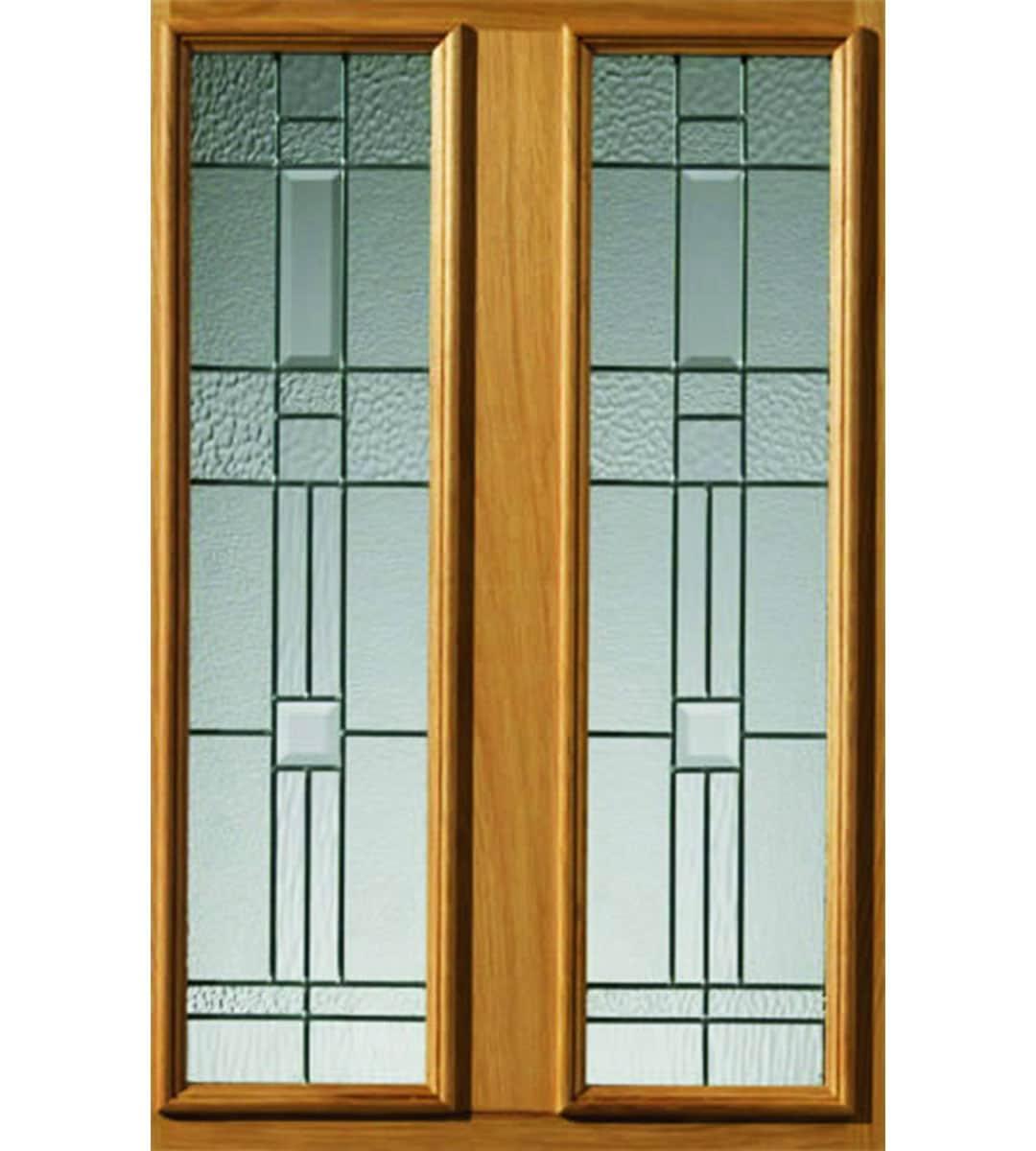 rioja exterior door closeup glass glazing