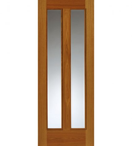 Royale Modern R11 Oak Internal Glazed Door - 1981mm-x-686mm-x-35mm
