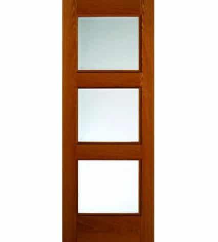 Royale Modern R3 Oak Internal Glazed Door - 1981mm-x-686mm-x-35mm