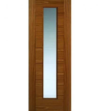 Royale Modern VP7 Oak Internal Glazed Door - 1981mm-x-686mm-x-35mm
