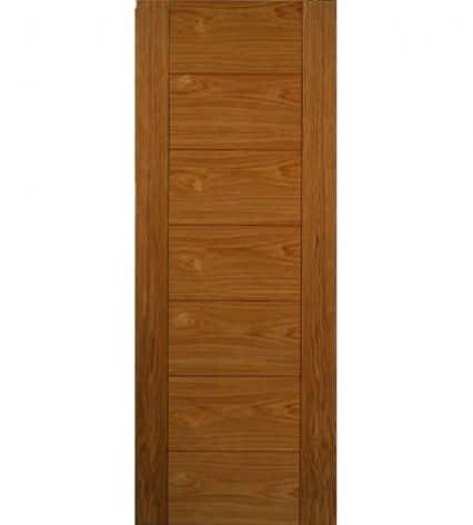 Royale Modern VP7 Oak Internal Door - 1981mm-x-838mm-x-35mm