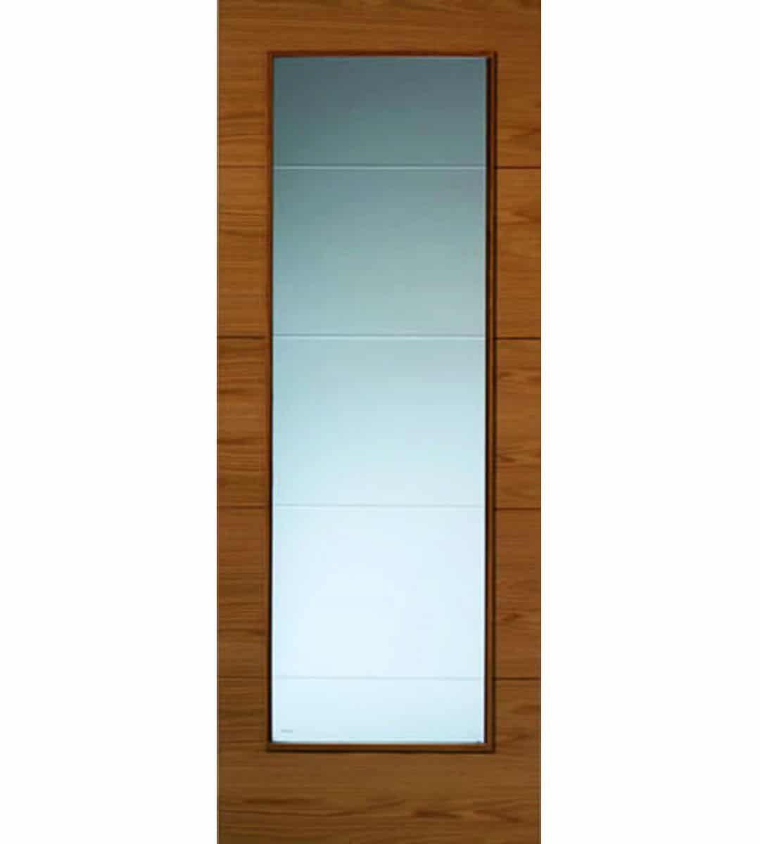 Exceptionnel Royale Modern VT5 Oak Internal Glazed Door   1981mm X 686mm X
