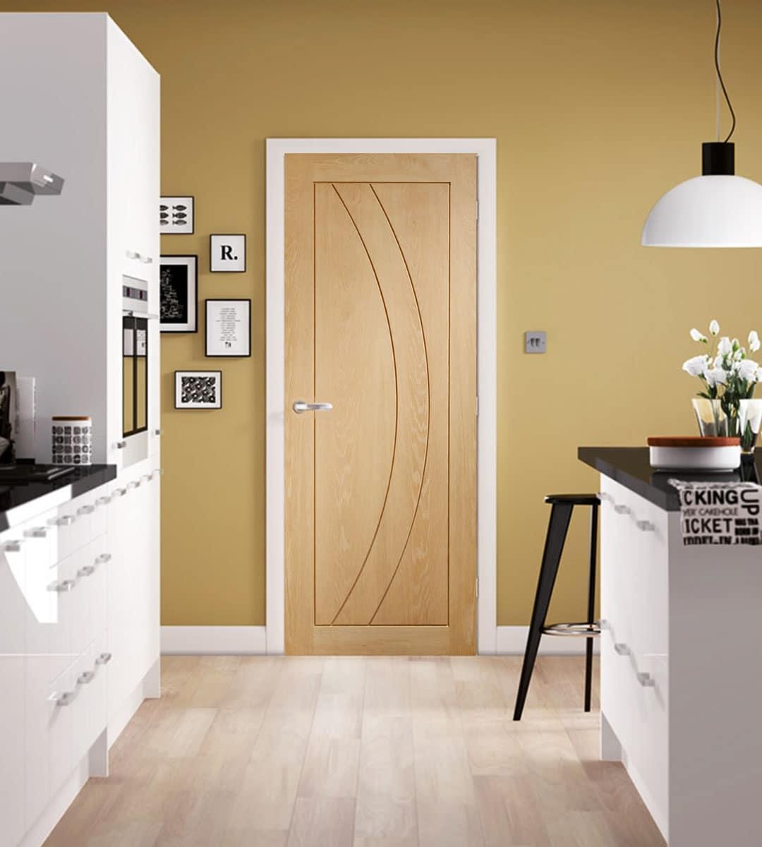 salerno oak interior door kitchen doors
