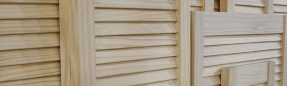 shawfield timber louvre doors scene