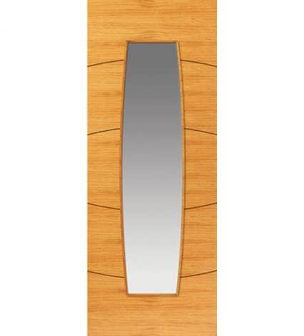Sol Pre-Finished Glazed Internal Door - 1981mm-x-686mm-x-35mm
