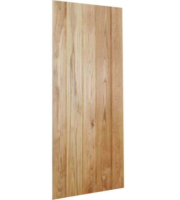 Solid Oak Door Button Bead Frame Ledged