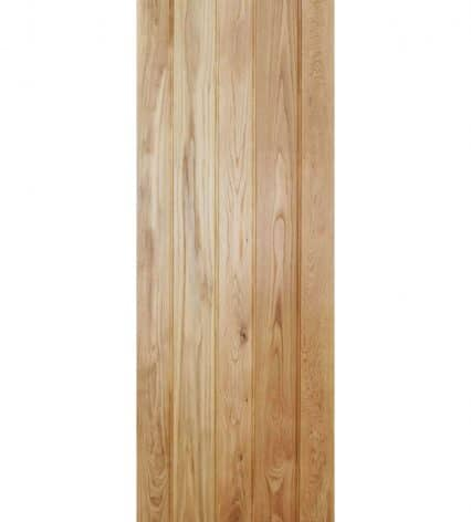 Solid Oak Button Bead Ledged Internal Oak Door - 1981mm-x-610mm-x-35mm
