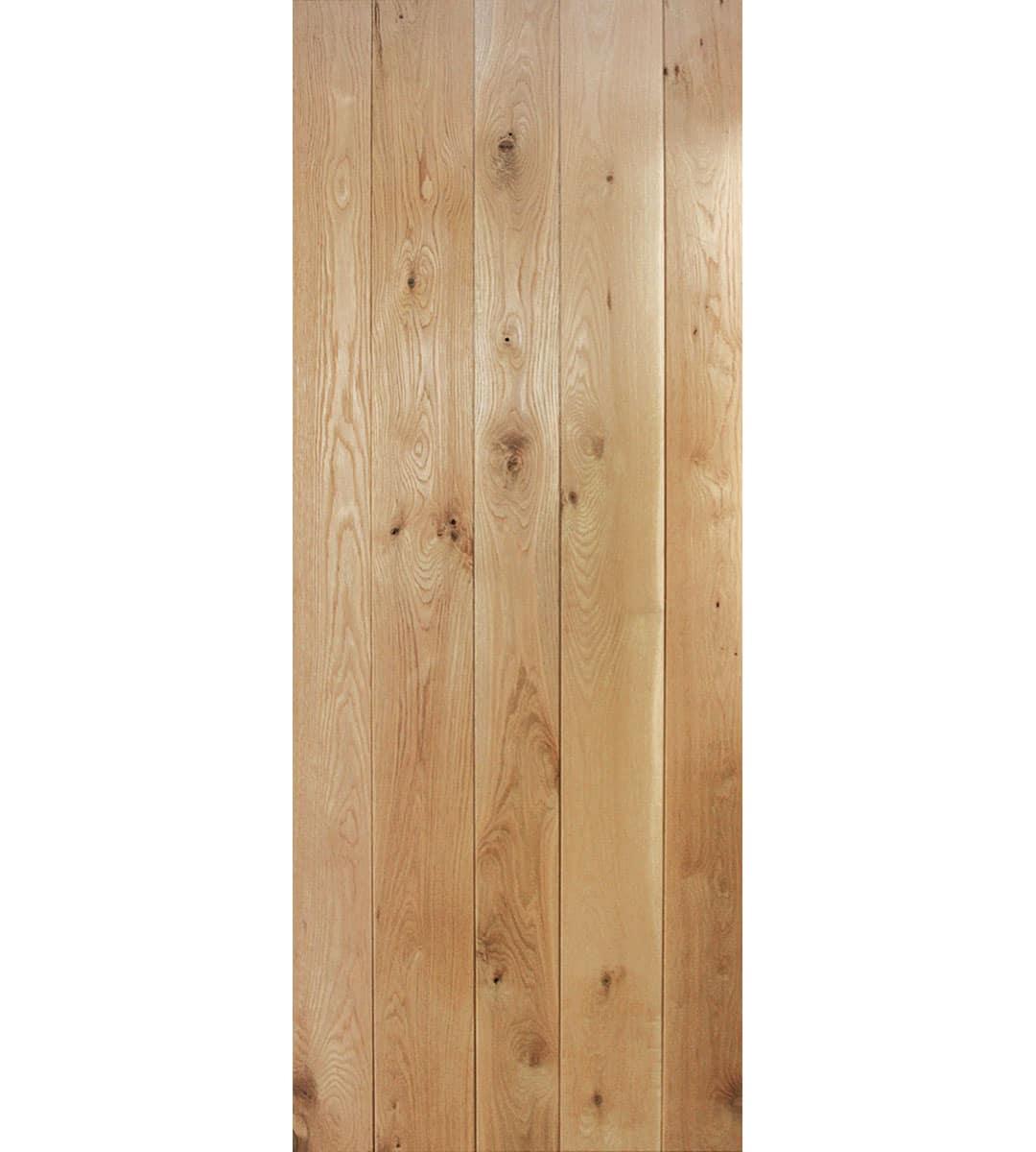 Solid Oak Ledged Door