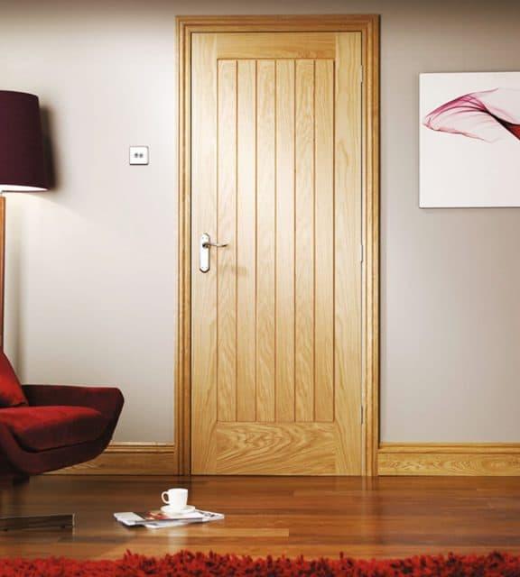 suffolk oak interior living room door