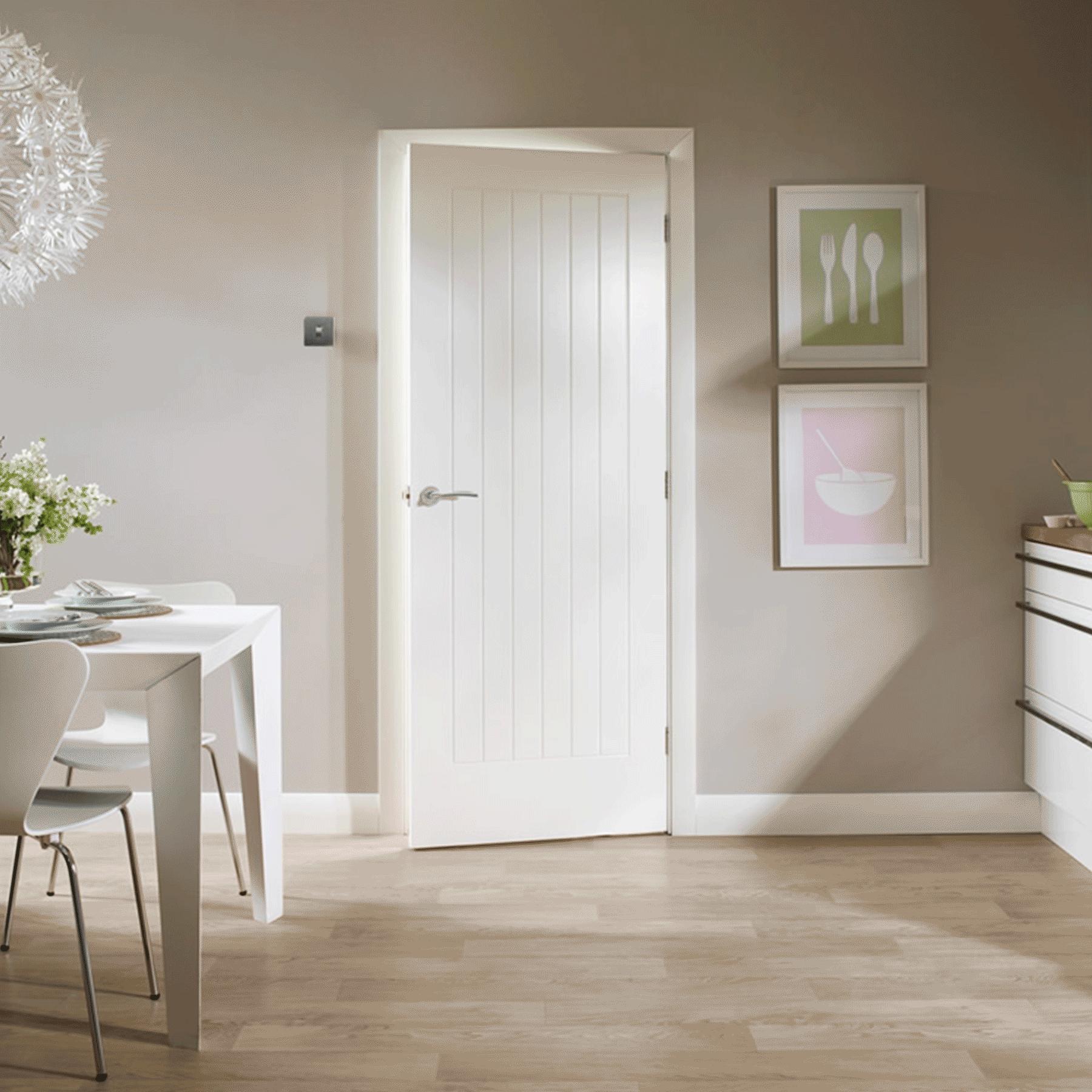 Suffolk White Internal Door