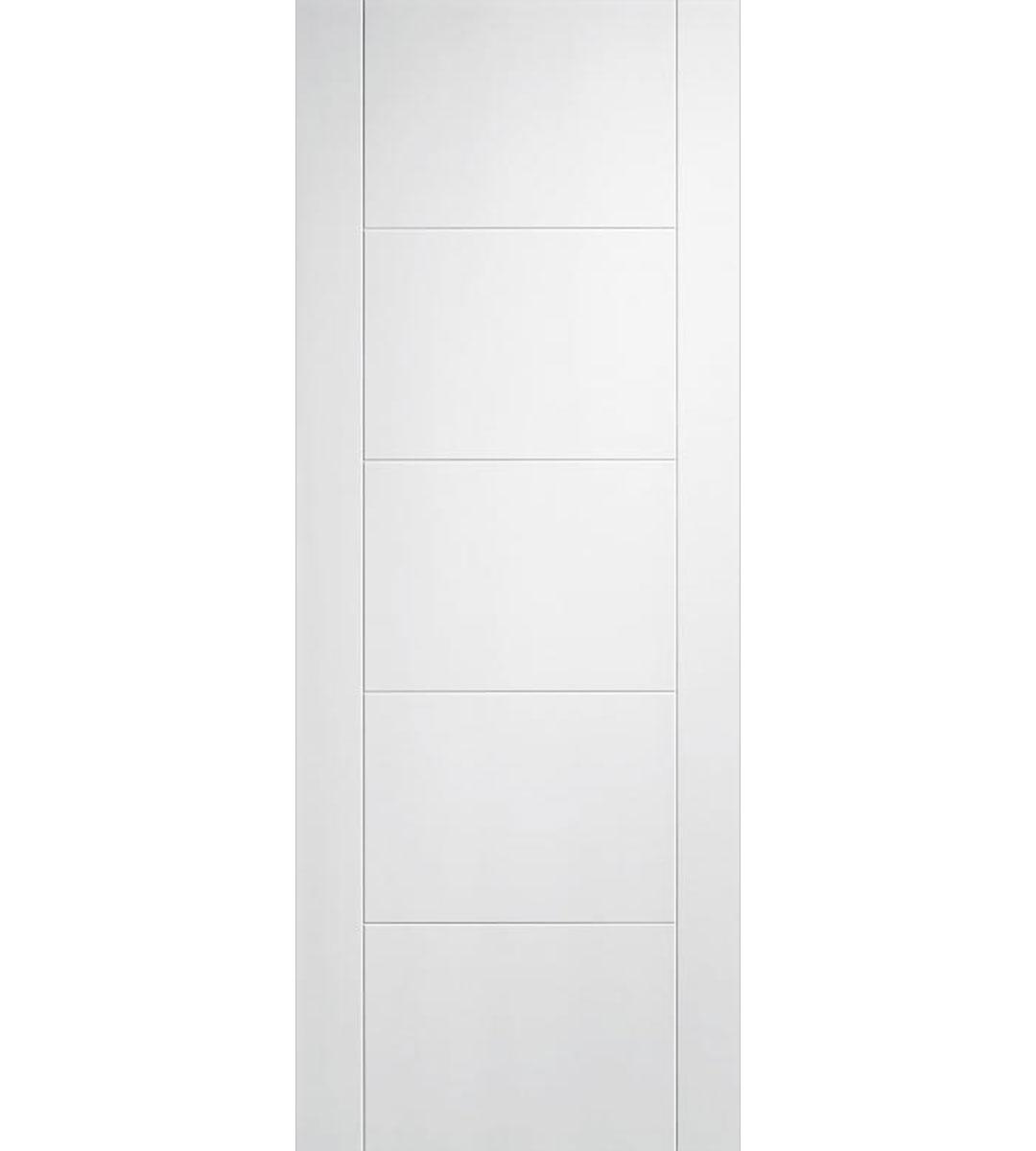 Vancouver White Internal 5 Panel Door - 1981mm-x-686mm-x-35mm