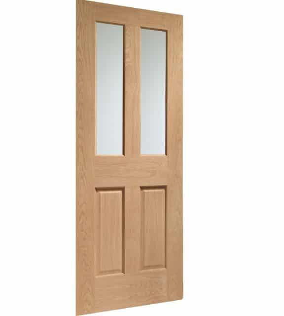 Victorian 4 Panel Glazed Interior Door