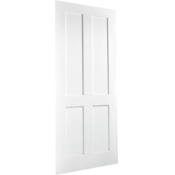 4 Panel London White Interior Door