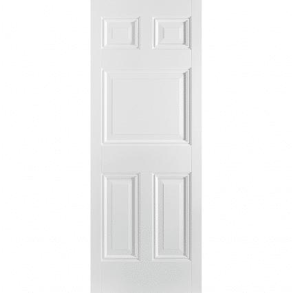 White Paris 5 Panel Internal Door - 1981mm-x-838mm-x-35mm