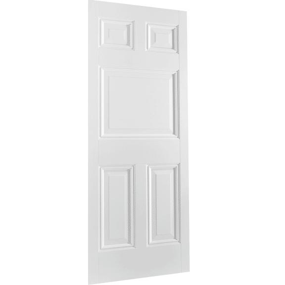 White Paris 5 Panel Interior Door