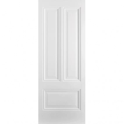 White Peony 3 Panel Internal Door - 1981mm-x-838mm-x-35mm