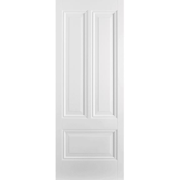 White Peony 3 Panel Internal Door