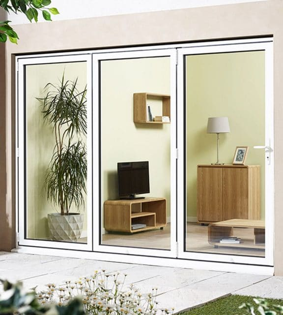 White Sliding Door Kit