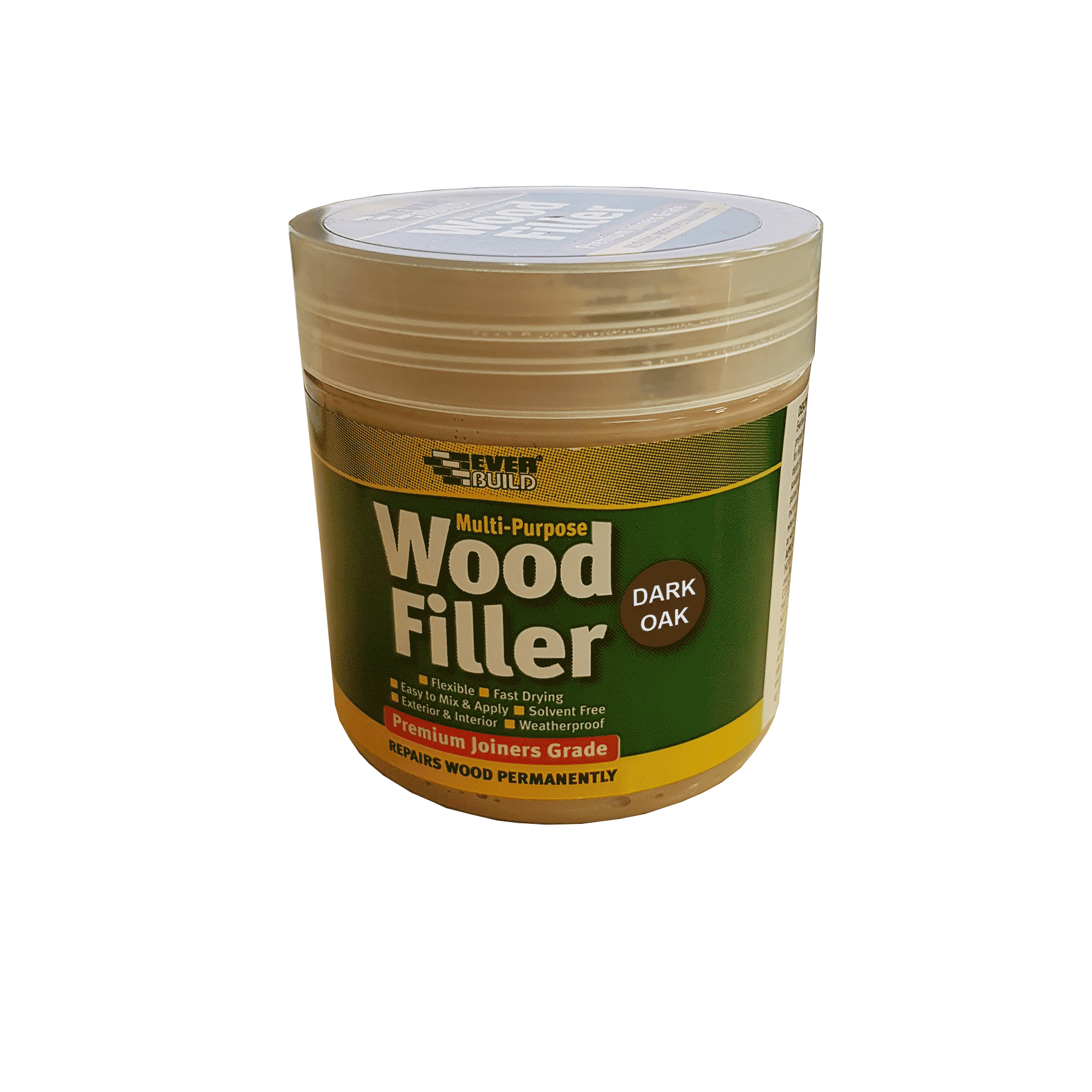 Everbuild Multi Purpose Wood Filler 250ml Dark Oak