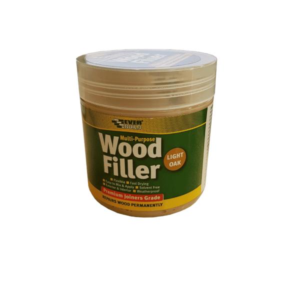 Everbuild Multi Purpose Wood Filler 250ml Light Oak