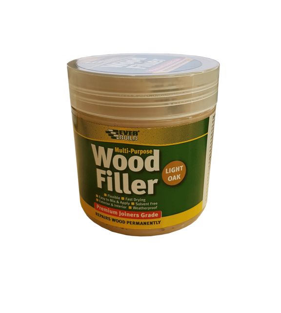 Everbuild Multi Purpose Wood Filler 250ml Light Oak