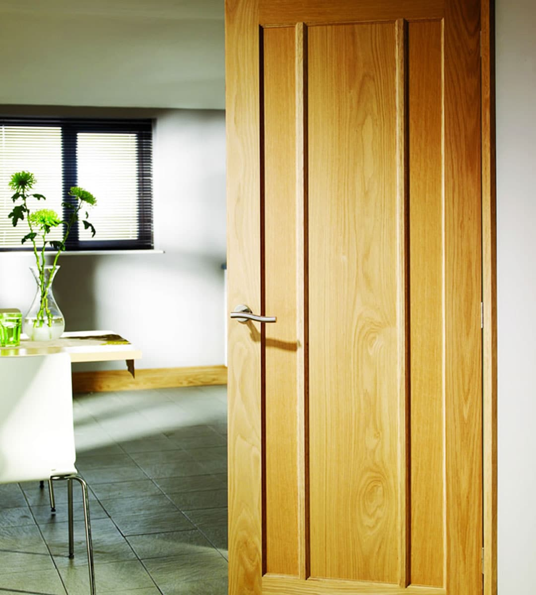 worcester oak internal door office interior