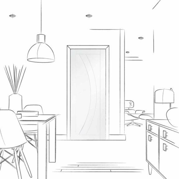 xl joinery salerno internal white door