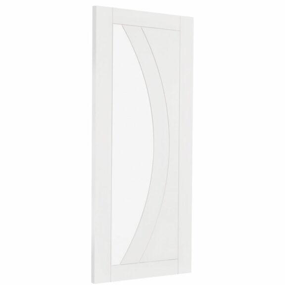 xl joinery salerno white primed internal glazed door