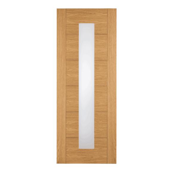 xl joinery taunton pre-finished oak glazed internal door