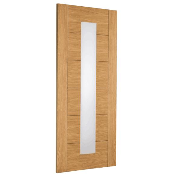 xl joinery taunton pre-finished oak glazed interior door