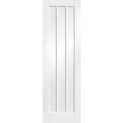 XL Joinery Worcester Internal White Primed Door with Clear Glass - 2040 x 826 x 40mm
